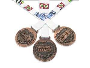 medaglie ciclismo personalizzate